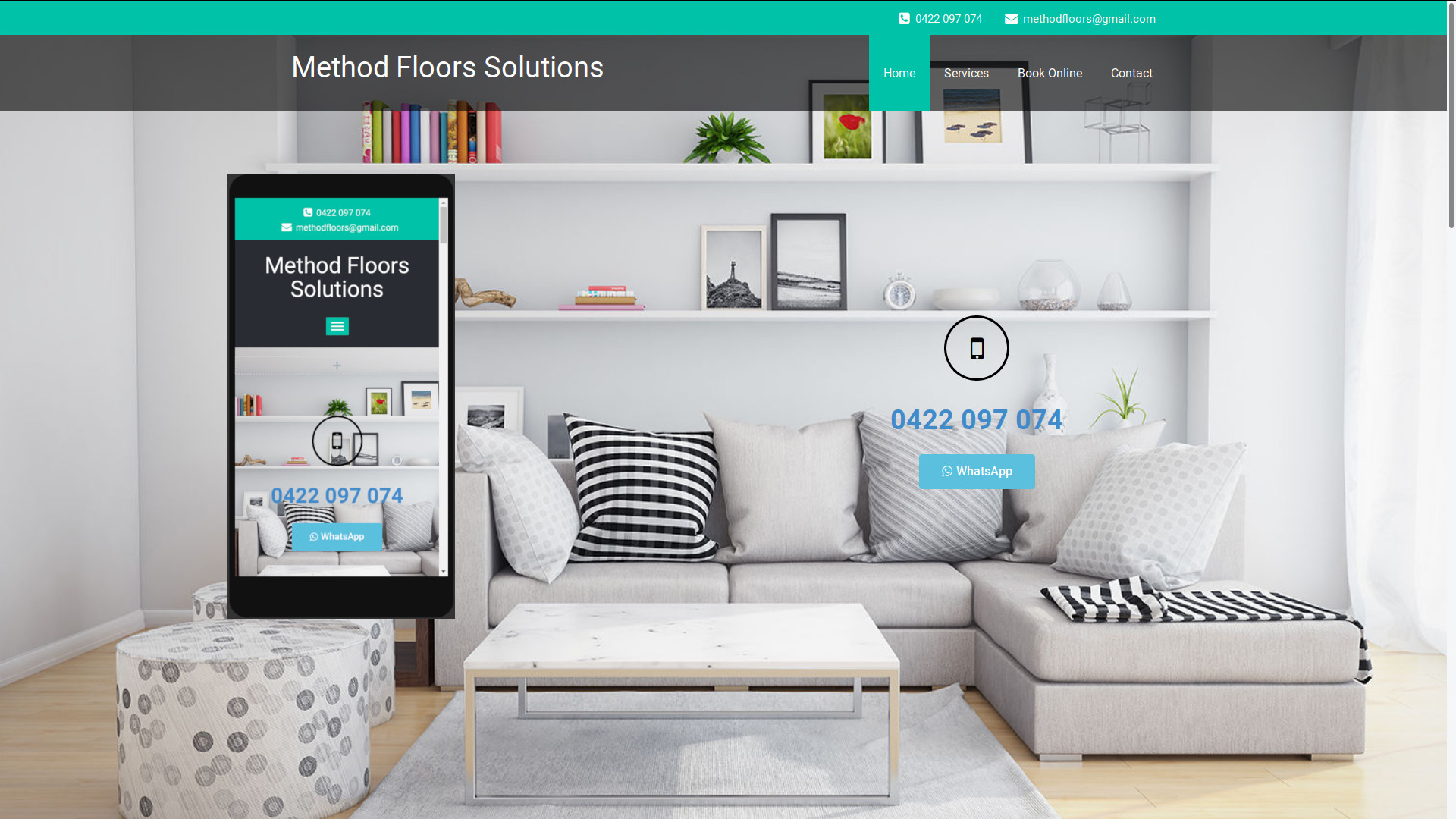 Method Floors Web Page