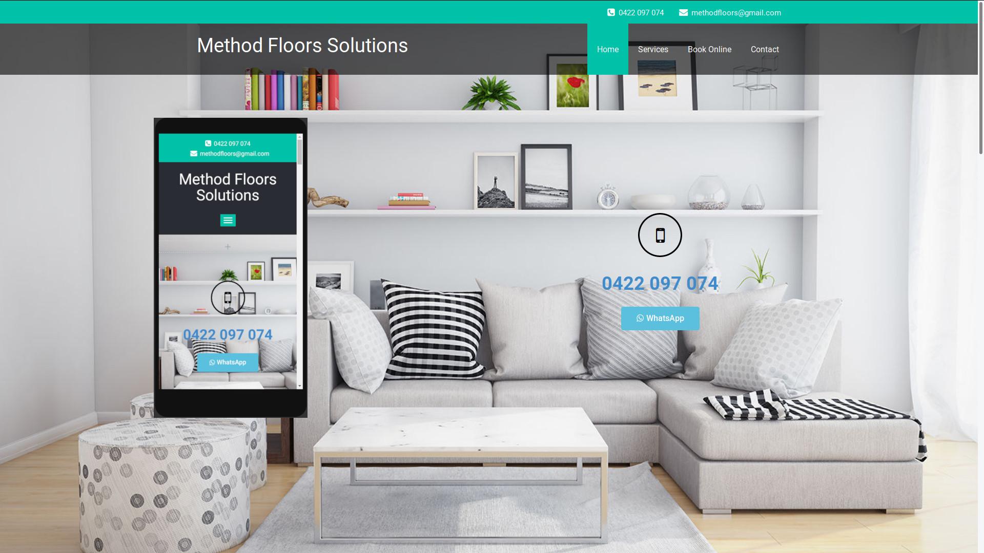 Method Floors Web Page